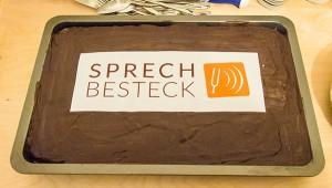 Sprechbesteck-Torte
